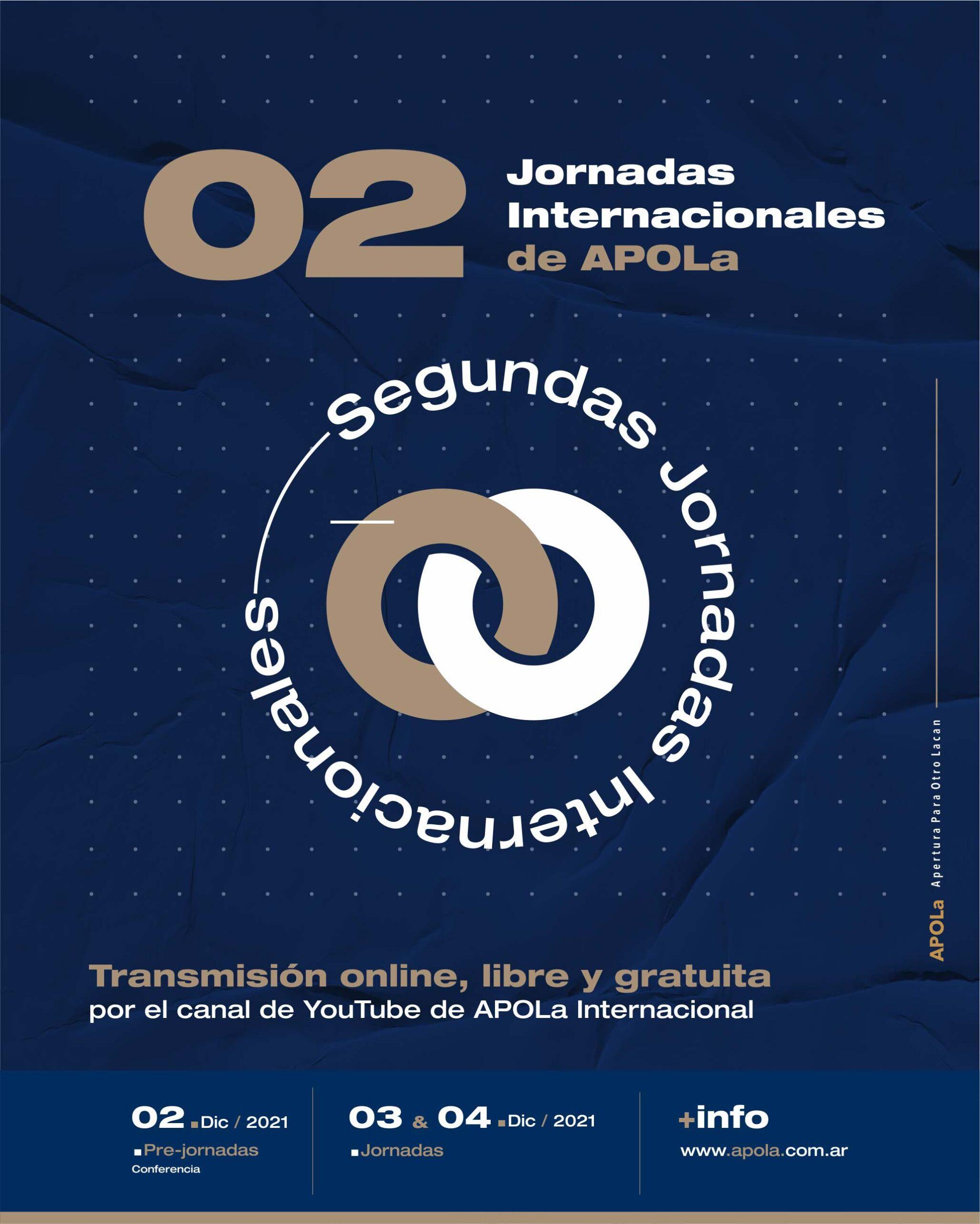 2° Jornadas Internacionales de APOLa